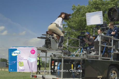 Tena: protective underwear brand signs sponsorship deal with UKTV