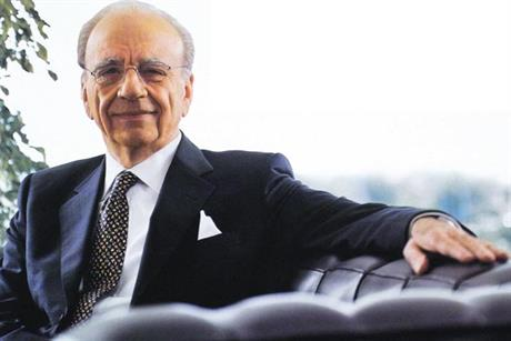 Rupert Murdoch: chairman and chief executive officer of News Corporation