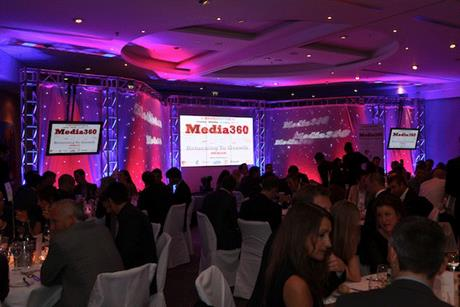 Media360: delegates enjoyed dinner and entertainment