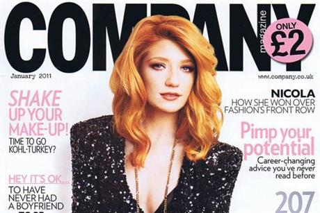 Company: January 2011 cover girl Nicola Roberts