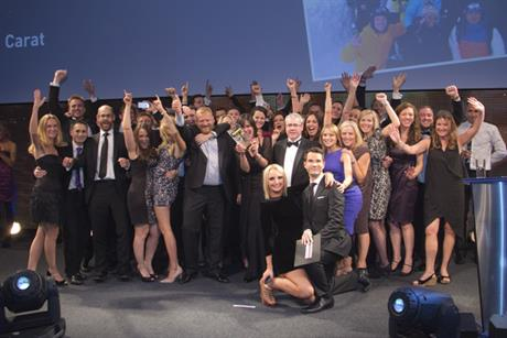 Media Week Awards 2012: Carat wins Media Agency of the Year