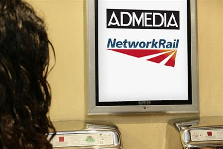 Admedia: wins Network Rail account