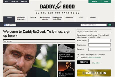 DaddyBeGood: owners Beta plan to reposition the website