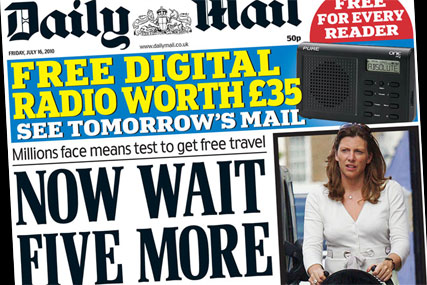 Daily Mail: free digital radio offer