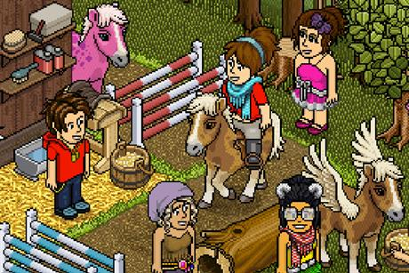 Habbo: social network is aimed at children
