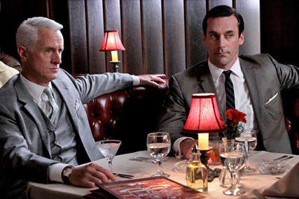 Mad Men: remembers the days of the long lunch
