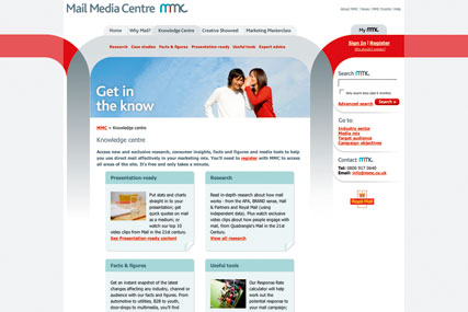 Royal Mail: launching online advice centre for advertisers and media agencies