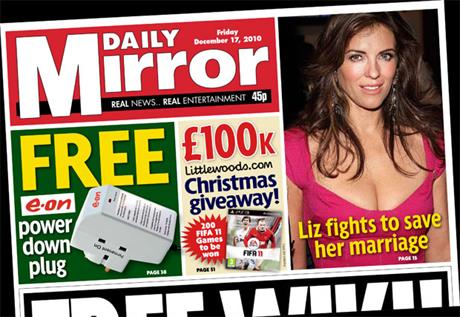 The Daily Mirror: Free power plug