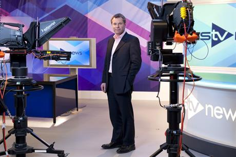 Rob Woodward: chief executive of STV