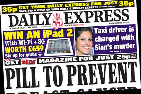 The Daily Express: Readers can win an iPad 2