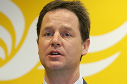 Nick Clegg: a solid performance in the TV debates