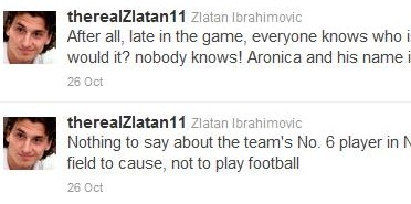 Fake Zlatan on Twitter continues to fool Italian media