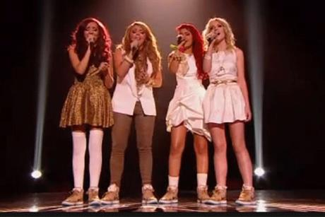 Little Mix: winners of The X Factor final which drew 15.3 million viewers last night