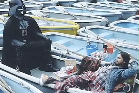 Docomo: Japanese ad stars Darth Vader