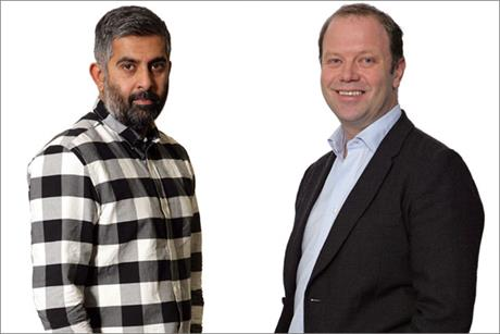 Simon Sankarayya, D&AD, and Andy Fennell, Diageo