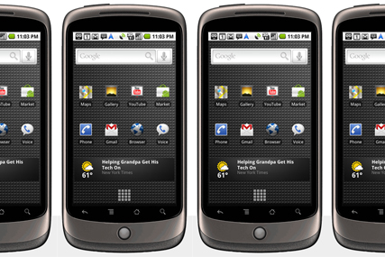 Nexus One: Google delays UK launch