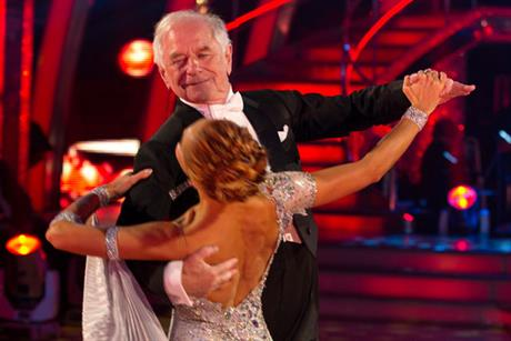 Strictly Come Dancing: Johnny Ball and his partner Iveta Lukosiute