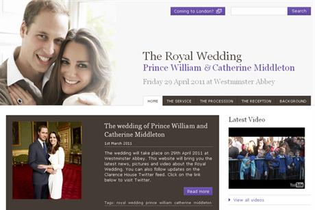 The Royal Wedding: official site launches