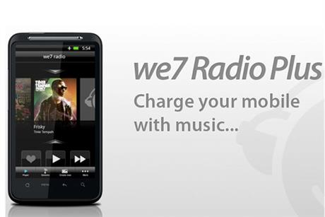 We7: unveils personalised radio mobile app
