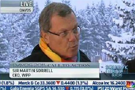 Sir Martin Sorrell: urges US to focus on cutting the deficit
