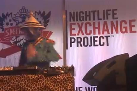 Snirnoff Nightlife Exchange Project: led by JWT New York