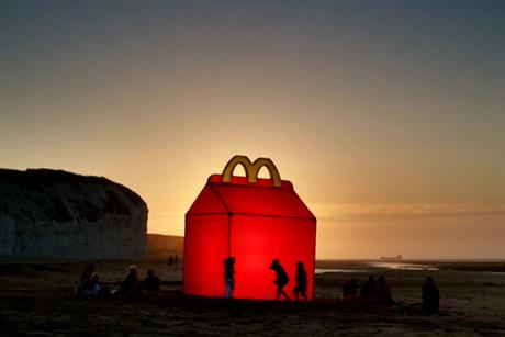 McDonald's 'happy box' by Leo Burnett