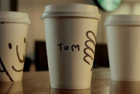 Starbucks 'names' by AMV BBDO