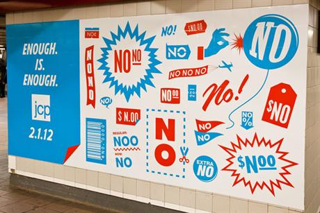 JCPenney 'no' by Mother New York