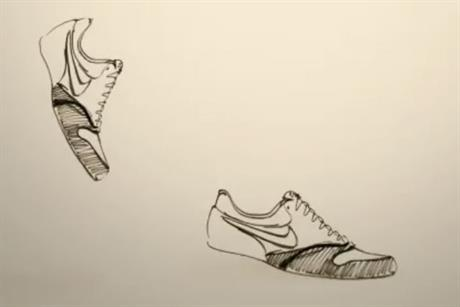 Nike 'shoe evolution' by HMDG
