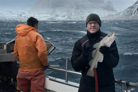 Waitrose 'sustainably caught cod' by Dare