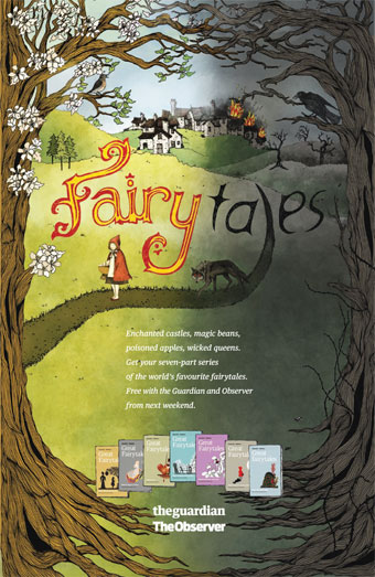 Guardian 'fairytales' by Wieden & Kennedy London