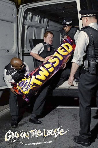 Cadbury 'twisted' by Saatchi & Saatchi UK