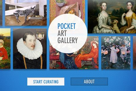 Great British Art Debate 'Pocket Art Gallery' by AllofUs
