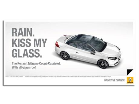 Renault 'kiss my glass' by Publicis London