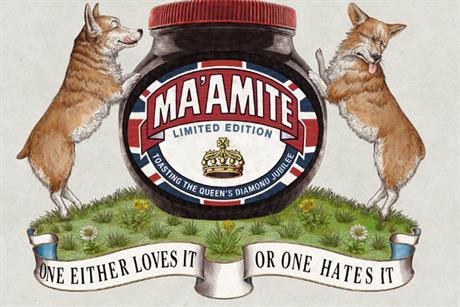Marmite 'Ma'amite' by DDB UK