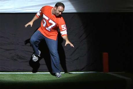 ESPN 'evolution of touchdown dance' by Wieden & Kennedy New York