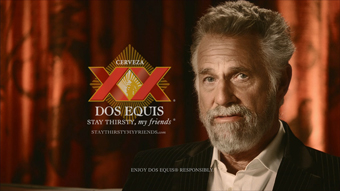 Heineken... reveals 'the most interesting man in the world'