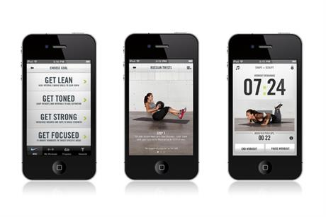 Nike 'Nike training club' by AKQA