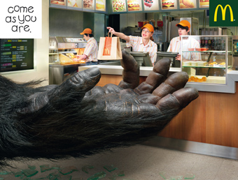 McDonalds 'come as you are' by BETC Euro RSCG