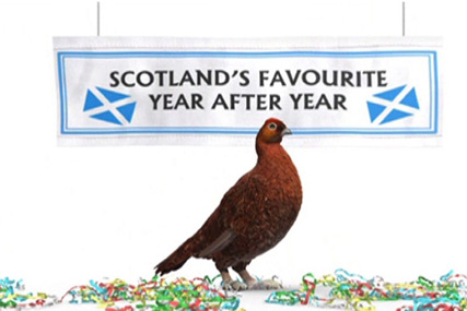 Famous Grouse 'grouse hunt' by AMV BBDO