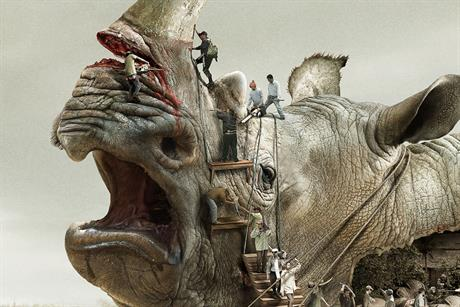 WWF 'illegal wildlife trade' by Ogilvy & Mather