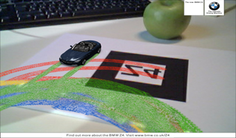 Drive a Z4 on your deskDare's new BMW campaign