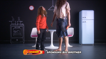 Lucozade... sponsors Big Brother