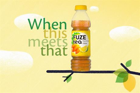 Fuze 'when this meets that' by Wieden & Kennedy