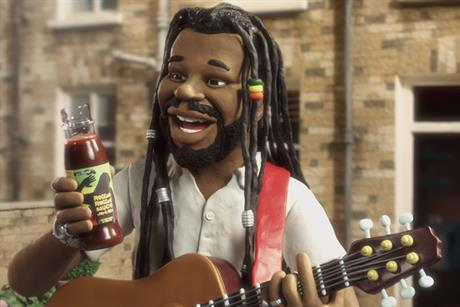 Reggae Reggae Sauce 'put some music in your food' by JWT London