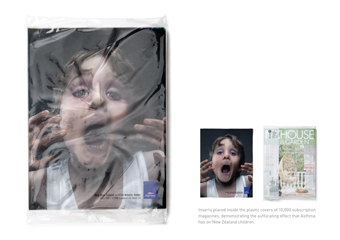 Asthma Foundation 'suffocation' by Ogilvy New Zealand