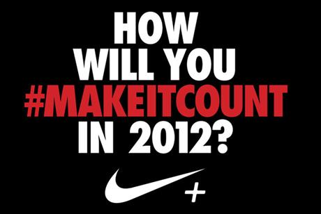 Nike '#makeitcount' by Wieden & Kennedy and AKQA