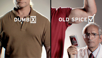 Old Spice.com 'swaggerize your wallet' by Wieden + Kennedy Portland