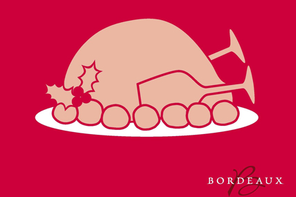 Bordeaux 'Xmas Turkey' by Isobel