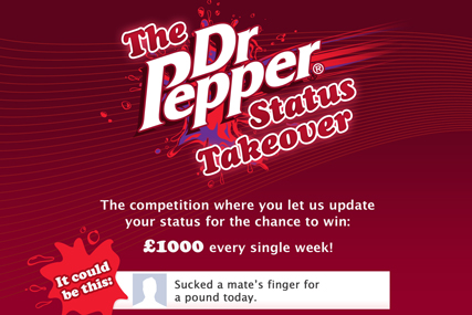 Dr Pepper 'the status takeover' by Lean Mean Fighting Machine